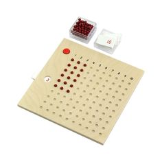 Multiplication Bead Board  from Montessori Outlet $17.95 I really have to figure out a way to make this!!!1