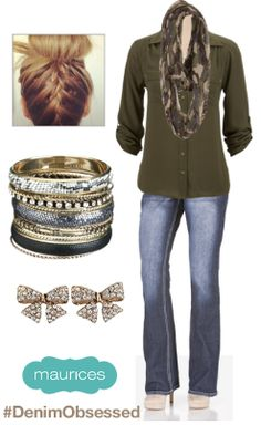 love this top and scarf. I have a top similar to this but I definitely need this scarf.