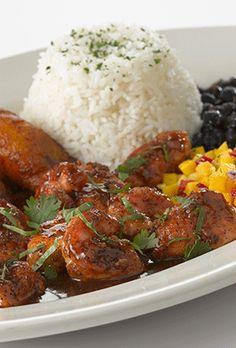 Jamaican Black Pepper Shrimp and Chicken #delish