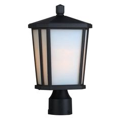 Artcraft Hampton AC8773 Outdoor Post Light Black - AC8773BK