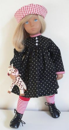 Spots and checks .....for Sasha doll, by chirnside on eBay