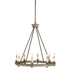 Shop Currey & Company Currey & Company 9799 8 Light Bonfire Chandelier, Antique Rust at ATG Stores. Browse our chandeliers, all with free shipping and best price guaranteed.