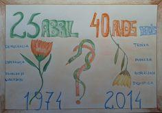 25 ABRIL 2014 Carnations, Revolution, Portugal, 40 Years, April 25, Revolutions