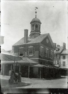 Market House, 2nd Street at Pine - Historical Images of Philadelphia image taken in 1900