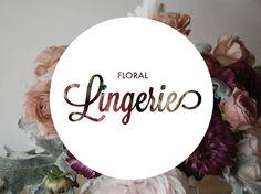 PUT FLOWERS UNDERNEATH /floral lingerie