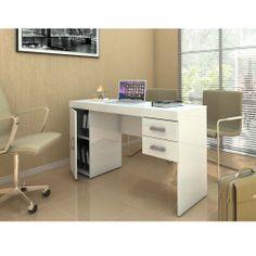 Mesa para Computador Politorno Miranda 1183 - Branco - Mesas para Computador e Escrivaninhas no CasasBahia.com.br