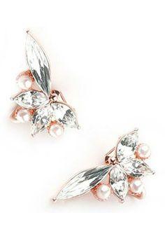 Rue Gembon Abegail Rose earrings