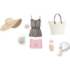 Beach 1, created by jessygirl93 on Polyvore