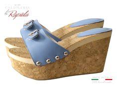 Zeppe Donna da Mare con Fascia Regolabile Estate Wedge Mules, Cork Wedges, Ciabatta, Estate, Sandals, Heels, Sexy, Fashion, Wedges