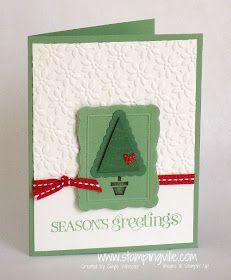 Stampin' Up! Pennant Parade Christmas Card