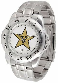 Vanderbilt Commodores Suntime Mens Sports Watch w/ Steel Band - NCAA College Athletics by SunTime. $49.95. The Sport Steel watch by Suntime features your favorite team logo in a European styled stainless steel case with a stainless steel strap and security buckle.