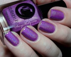 Cirque - Xochitl | Heritage Collection Spring 2014 | April 10, 2014 | A radiant orchid with a rainbow holographic finish