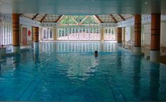 Champneys Forest Mere spa in Hampshire England, made the Conde Naste best spa list