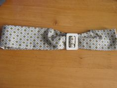 Vintage style pattern elasticated hairband with by LumeLapin, £4.50