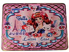 WU & WU Letter Case    Tokyo Belle Stationery     Wu and Wu's Letter Case Kit is packed with everything a young writer needs to stay in touch with friends and family. This Stationery kit is packaged and treasured in a gorgeous Asian kitsch illustrated Tin by Fiona Hewitt.