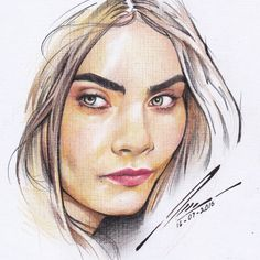 Cara Delevigne by Panjehh