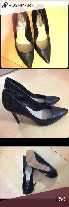 Vince Camuto Leather Pump 7.5. Wore once. Super comfortable to wear Vince Camuto Shoes Heels