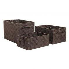 sha16098-cesta-entrelazada-chocolate-orden-en-casa-1 Chocolate, 21st, Wings, Student Apartment, Laundry Hamper, Palm Tree Leaves, Wardrobes, Objects, Schokolade