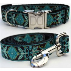 Boho Peacock Collection - All Metal Buckles - BD Luxe Dogs & Supplies - 1
