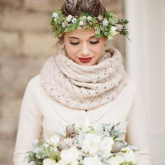 Flower Crowns for Your Wedding Wedding Hairstyles with Floral ...