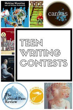 high school creative writing contests