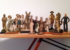 Early Photo Statuettes: Photograph, Doll & Sculpture - PROJECT B - Vintage Photography, Photo-Based Art & Curated Projects by Barbara Levine 3d Photo, Photo Art, Sculpture Projects, Art Projects, Vintage Photographs, Vintage Photos, Paper Dolls, Art Dolls, 3d Collage