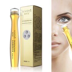 Women Natural Eye Cream 24K Golden Collagen Anti-Dark Circle Wrinkle Essence Firming Eye Cream 10g