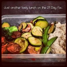 21 day fix- 1 red 1 green 1 yellow= delicious ....follow NVFIT on instagram and Facebook for more!