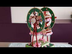 Merry Go Round/ Dryfruit Packing Indian Wedding Gifts, Desi Wedding Decor, Creative Wedding Gifts, Wedding Gifts For Groom, Wedding Crafts, Wedding Gift Baskets, Wedding Gift Wrapping, Wedding Card, Paper Flowers Craft