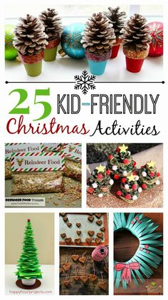 25 Kid-Friendly Christmas Activities - HANDY DIY