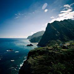 Madeira, North Coast. Beautiful island in the Atlantic Ocean...