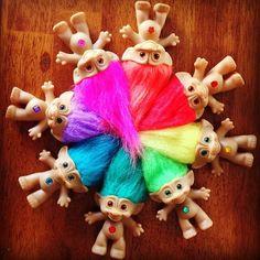 Treasure Trolls Pinwheel Trolls Color Wheel