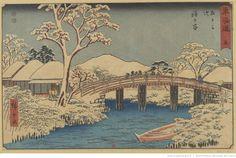 東海道 五十三次. 5, 程か谷 / 広重画Hodogaya / Hiroshige-ga