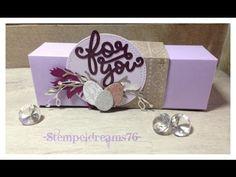 Kleine Geldbörse mit dem Gift Bag Punch Board - YouTube