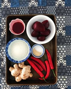 Take these simple ingredients. Whizz them up. Eat the most delicious beetroot chutney ever. Potentially deseed more of the chillies (my mouth is on fire). Thank me later! (Recipe on my website: link in bio). Happy Friday   #spicemama #indianfood #indiancuisine #perthfood #perthfoodie #indianfoodbloggers #saveur #huffposttaste #realfood #homecooking #buzzfeedfood #gloobyfood #beautifulcuisines #ingredients #eattherainbow #feedfeed #f52grams #food #heresmyfood #lifeandthyme #healthyfood…