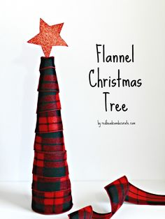 Flannel & Sweater Christmas Trees - Redhead Can Decorate