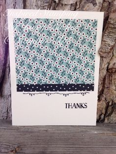 Inspired Stamping by Janey Backer: Pretty Petals Class, pretty petals, designer series paper, DSP, Tin of Cards, Stampin' Up!