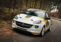 The Opel Adam road car seems like a credible alternative to the Mini Cooper and Fiat The Rallye Cup version looks just plain fun. This would make an interesting Buick. Opel Adam, City Car, Car Videos, Rally Car, Truck Accessories, Fiat 500, Car Stickers, Buick, Cars And Motorcycles