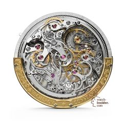 Vacheron Constantin Harmony Ultra-Thin Chronograph movement – Calibre 3500 - bottom view.