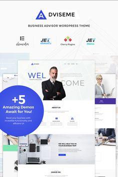 WordPress Theme , Adviseme - Business Advisor