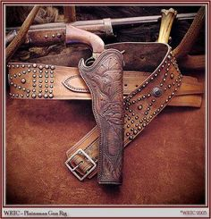 1860's Plainsman style gun rig from Wild Rose Trading Co