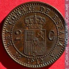 Moneda > 2céntimo, 1912 - España  - obverse