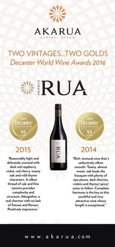 The Decanter World Wine Awards (UK) have published the judges comments online…  You can see why its been making a hasty exit out our door so don't leave it too late to pick up your supply!