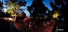 Karlshöhe Abendpanorama