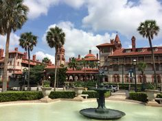 View of Flagler College from the Lightner Museum