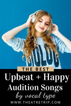 Getting ready for an upcoming audition? We've got you covered! Here are our favorite upbeat audition songs, broken down by vocal type. Musical Theatre Auditions, Audition Songs, Songs To Sing, Kids Songs, Grace Music, Billie Joe Armstrong, Singing Lessons, Acting Tips, Indie Movies