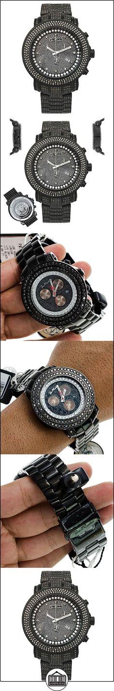 Joe Rodeo Diamond reloj de los hombres-JUNIOR negro 11,5de quilate  ✿ Relojes para hombre - (Lujo) ✿