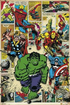 Who is your favorite Marvel hero? Leave a comment to win Latest Marvel Card Wallet! We Will randomly pick 5 comments to send you our latest marvel card wallet ! Avengers Comics, Marvel Comics Art, Marvel Comic Books, Comic Books Art, Comic Art, Comic Book Superheroes, Poster Marvel, Comic Poster, Ms Marvel