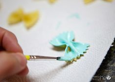 Use Your Noodle! Quick (and cheap!) spring butterfly decor | How Does She