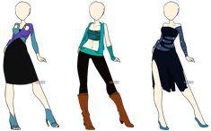 Fashion Adoptables 5 - OPEN by Karijn-s-Basement.deviantart.com on @deviantART